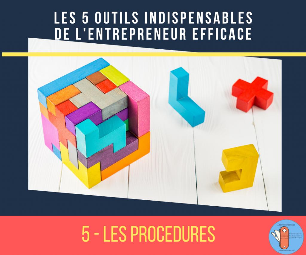 1e outil de l'entrepreneur efficace : les procédures
