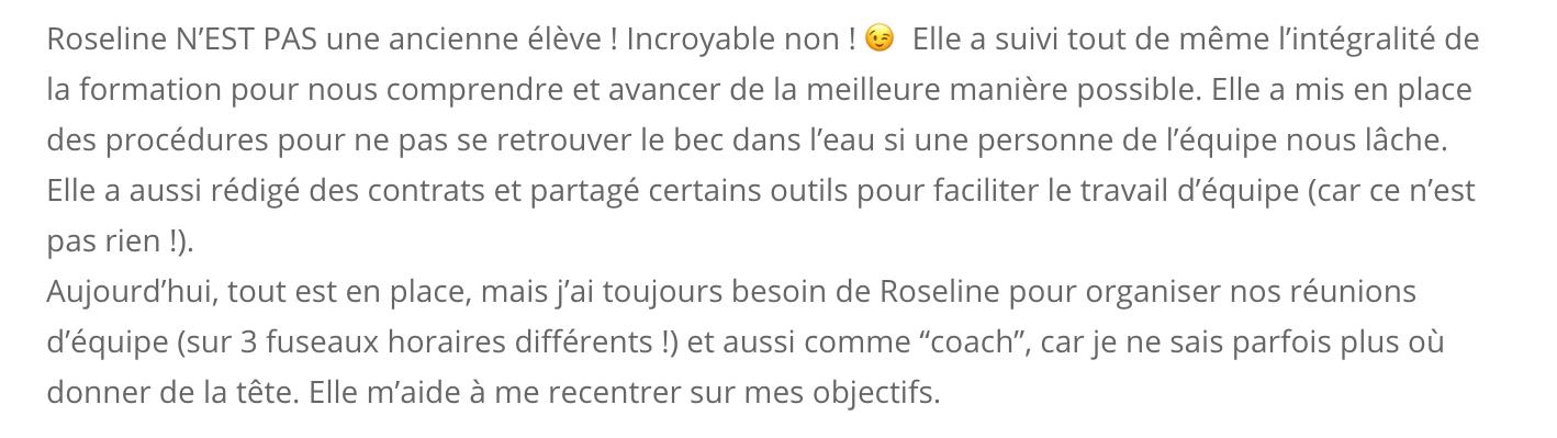Témoignage Lucie Rondelet AIMEntreprendre